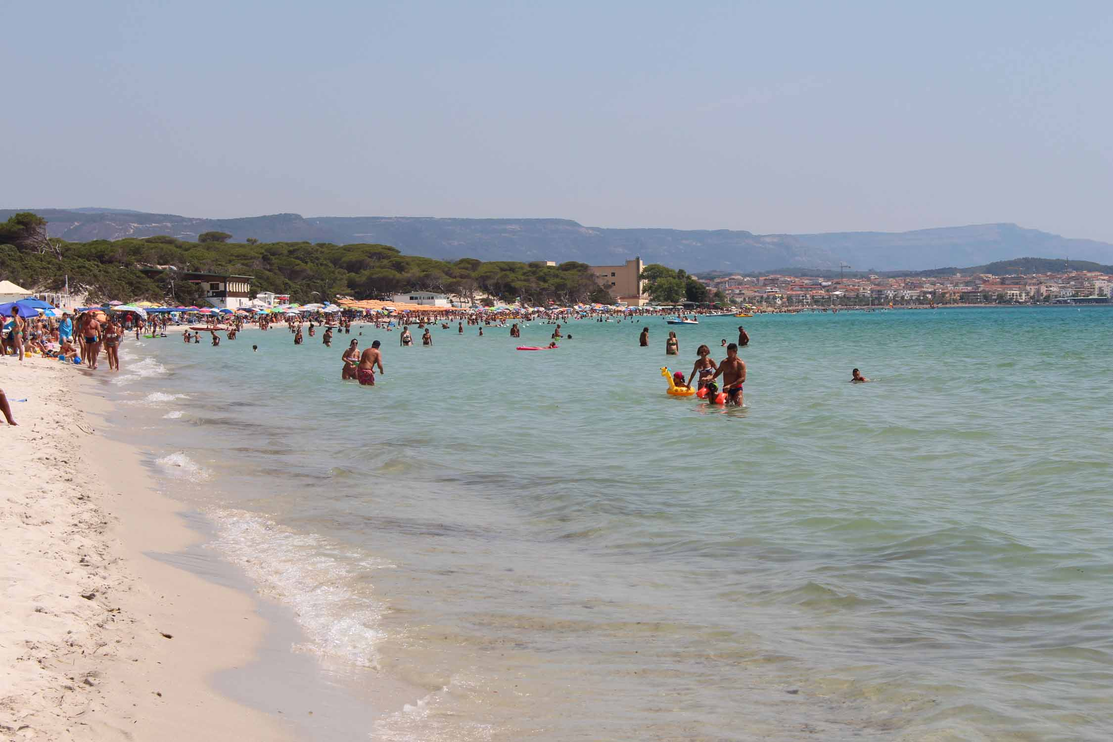 Sardinia, Fertilia beach