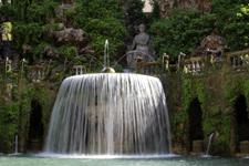 Oval Fountain, Villa d'Este