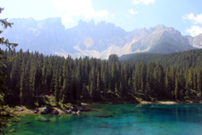 Carezza lake