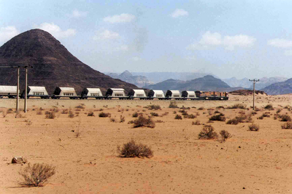 Jordan, phosphate train