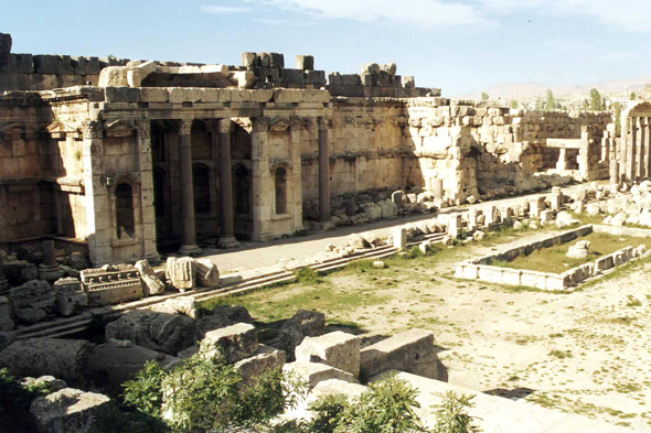Baalbek, Gran Patio