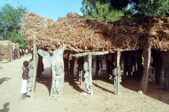 Case a palabre, Toro village, Dogon Country