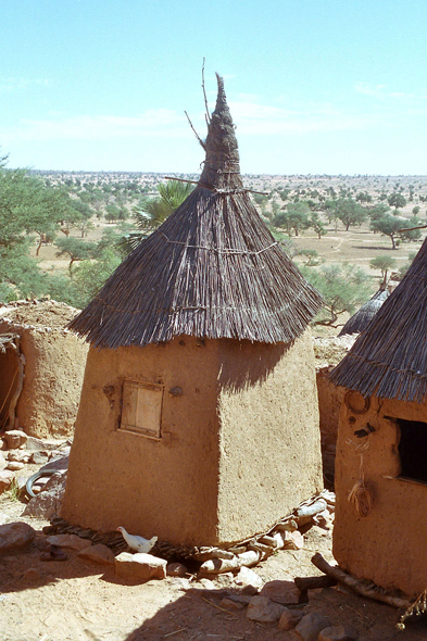 Dogon Country, hut