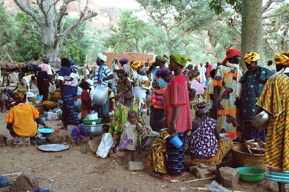 Dogon Country, Guimini market