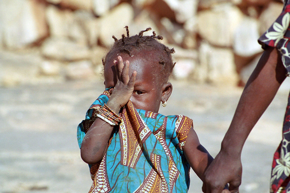 Dogon Country, child, Sangha