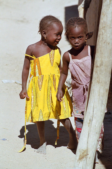 Mali, Akka, children, Songhai