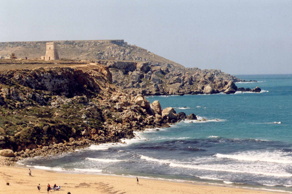 Malta, Golden Bay, landscape