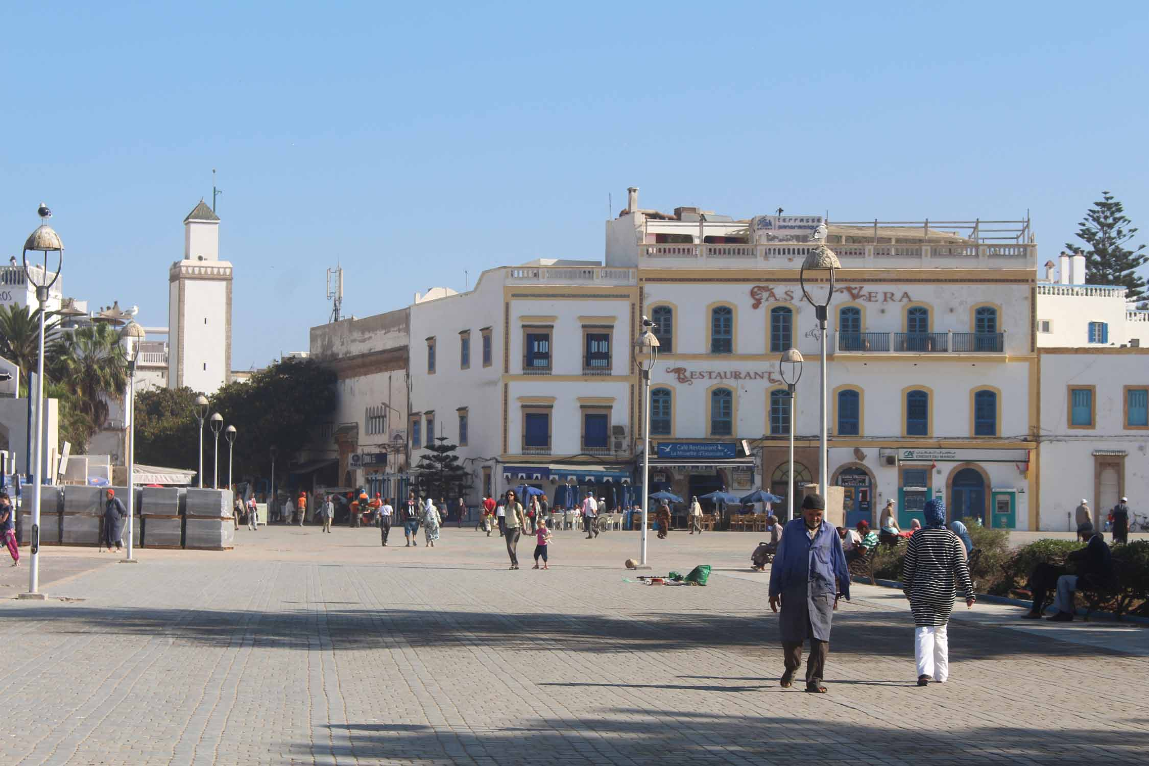Essaouira, place Moulay el Hassan