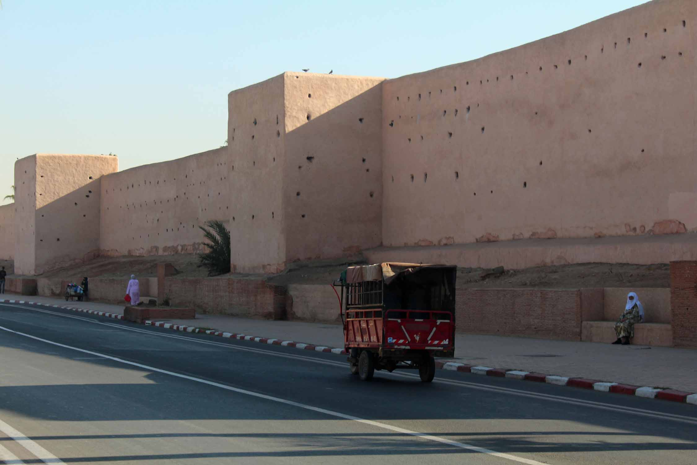 Marrakech, remparts