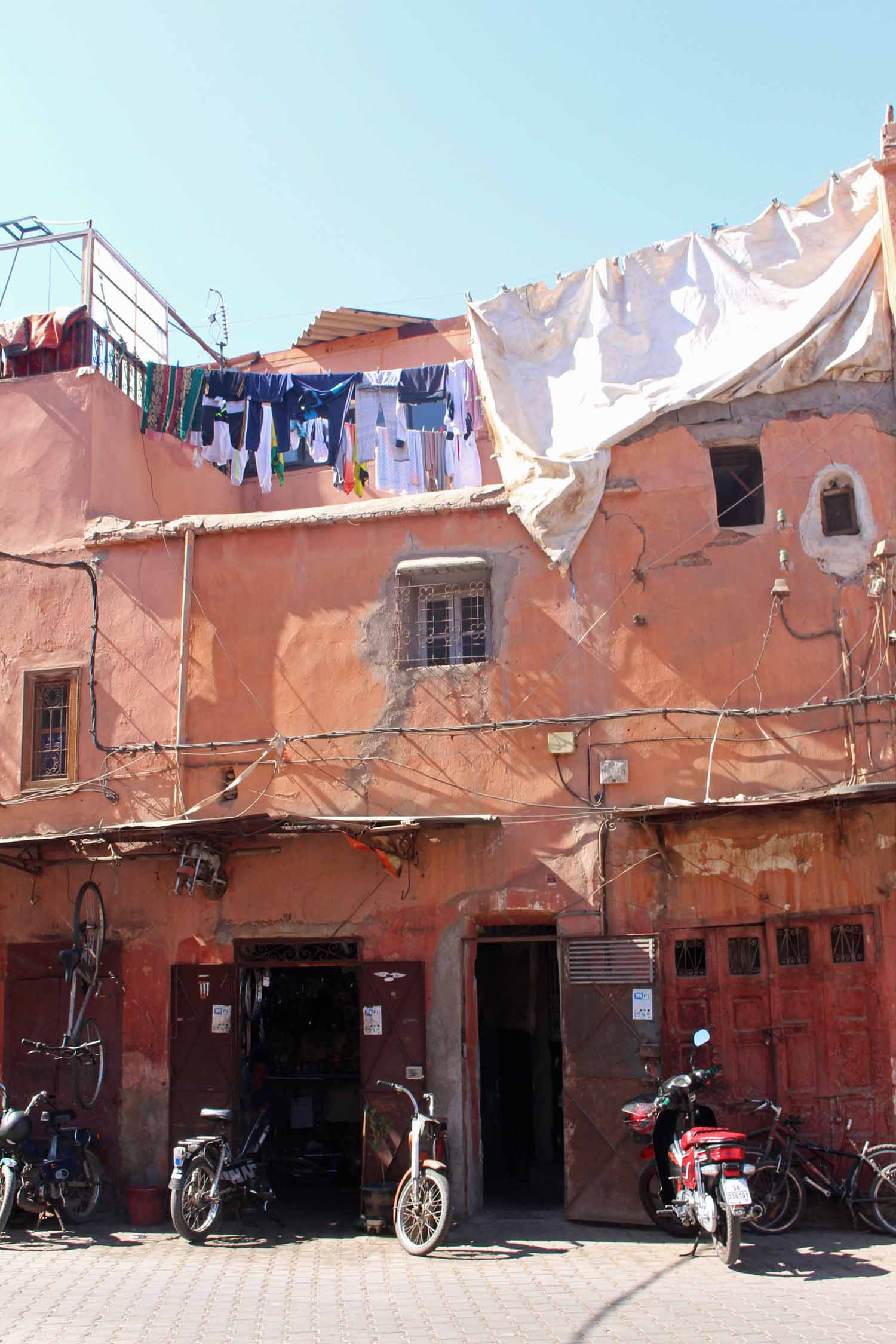 Marrakesh, laundries