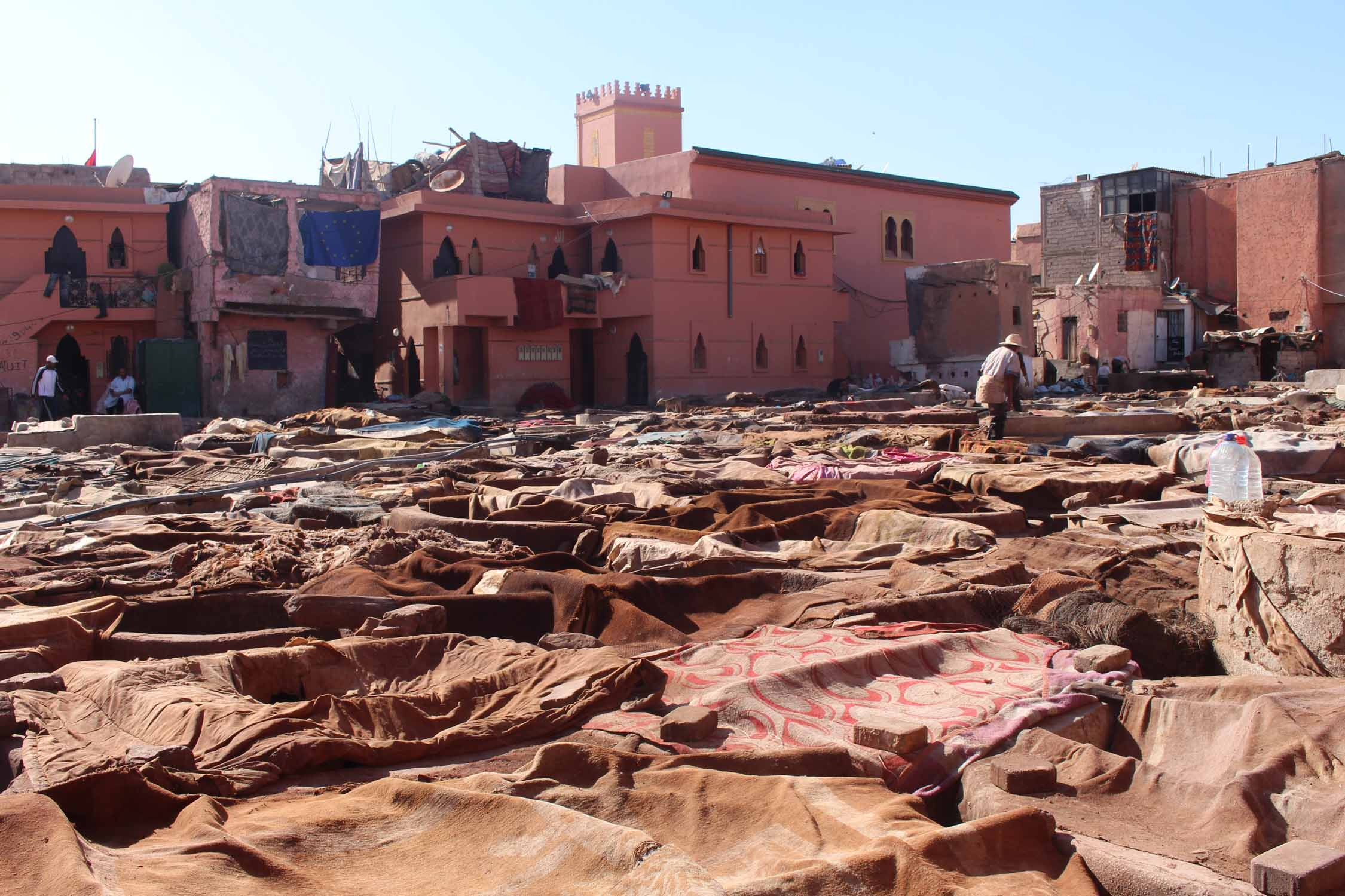 Tanneries, Morocco, Marrakesh