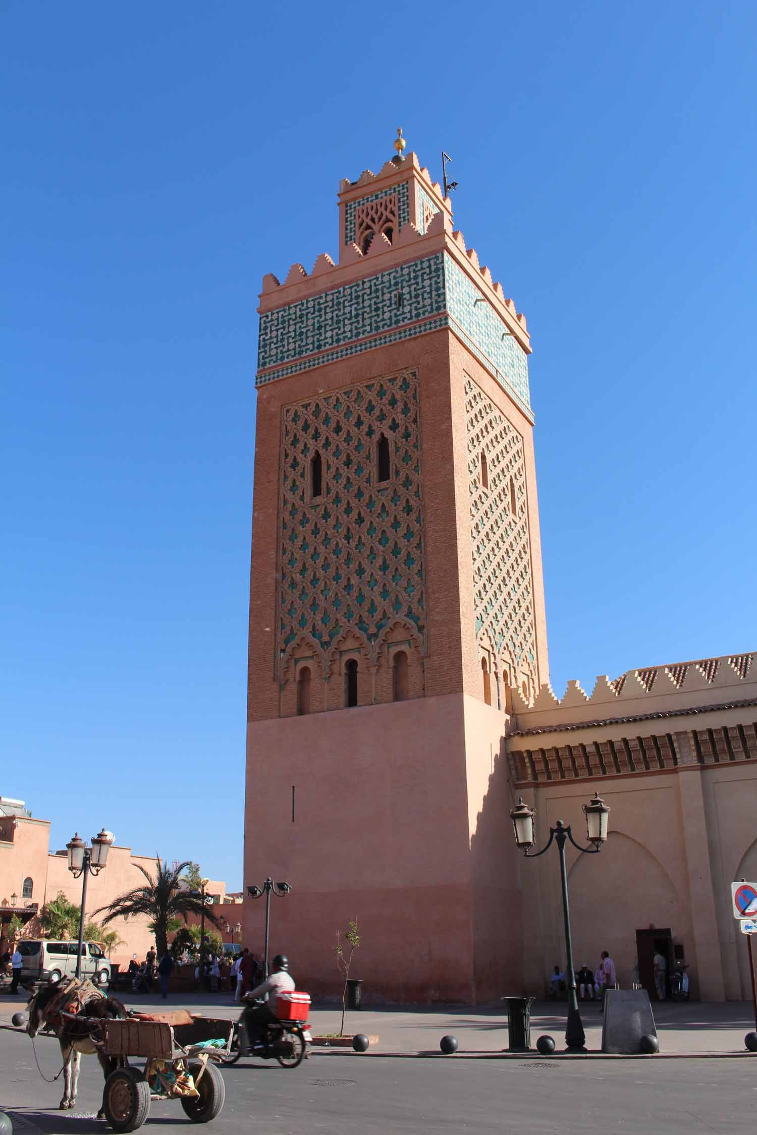Marrakesh, Moulay el Yazid mosque, minaret