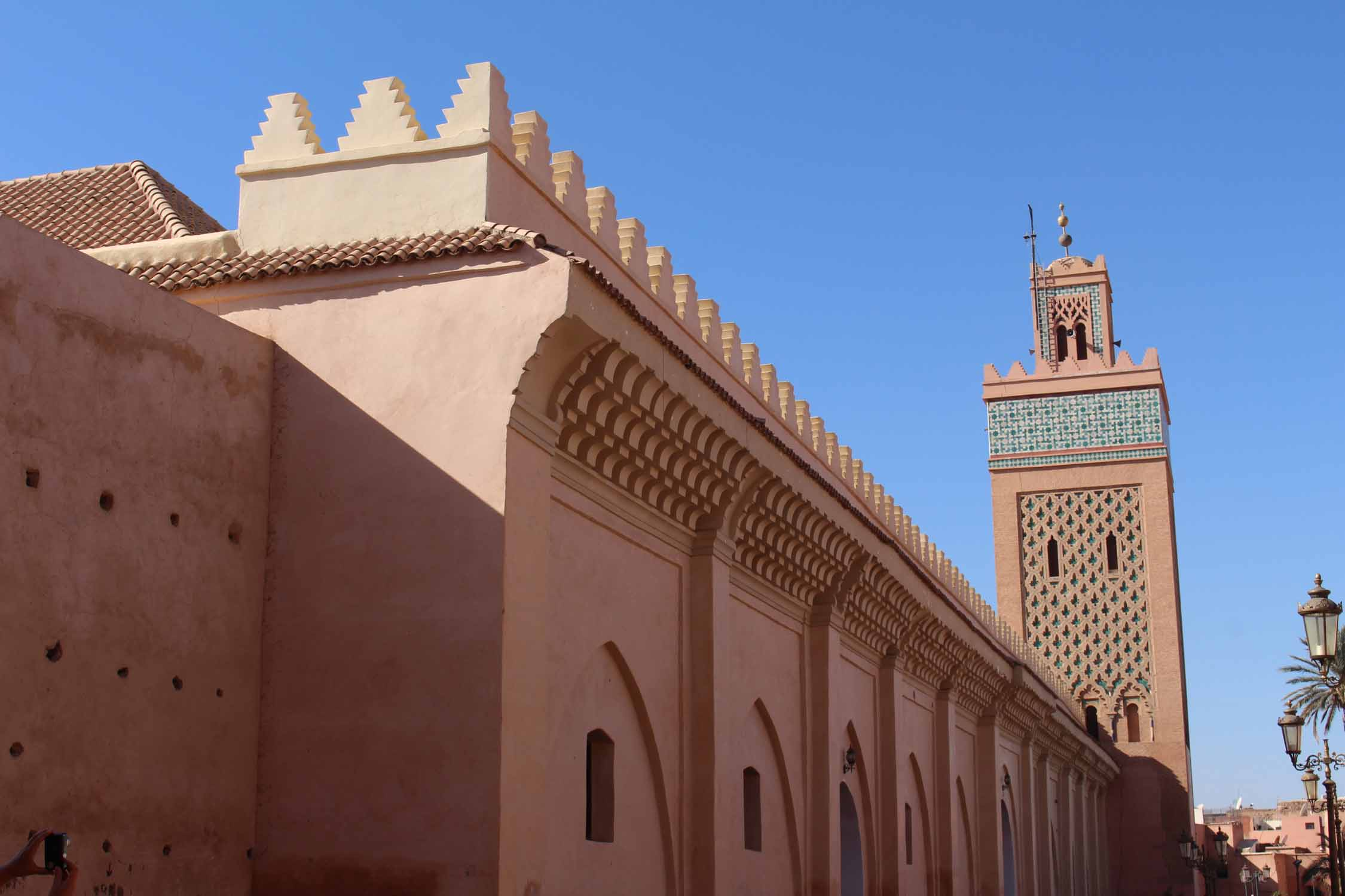 Marrakech, mezquita Moulay el Yazid