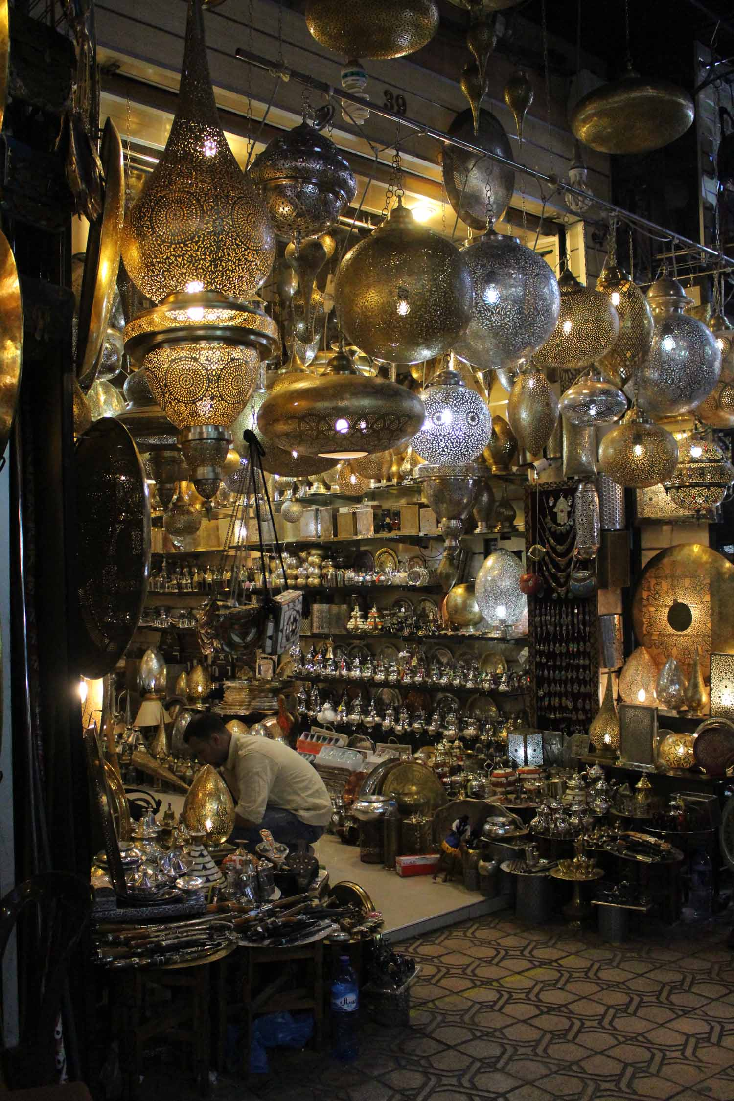 Marrakesh, market, jewellery