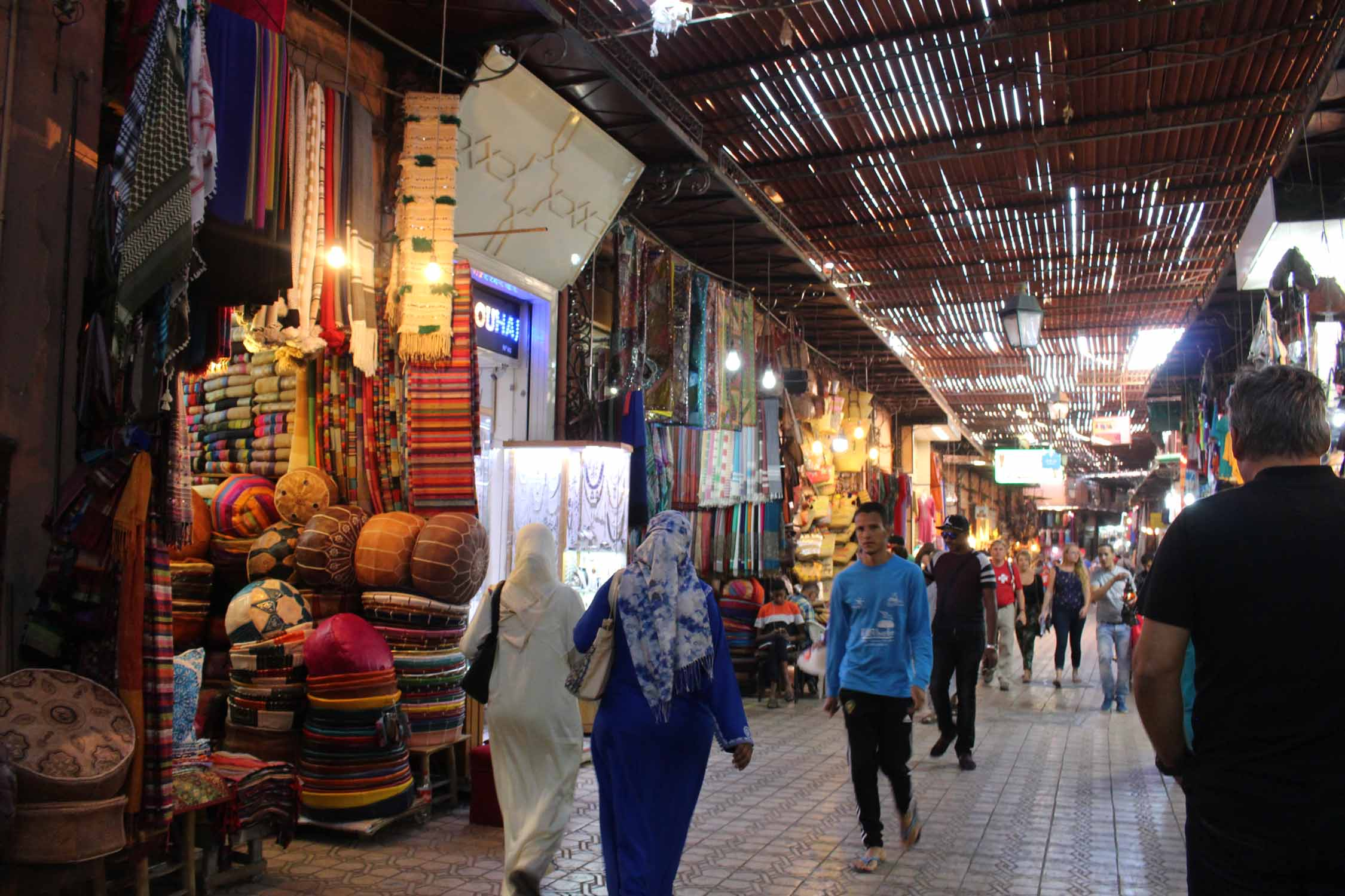 Marrakesh, market, alley