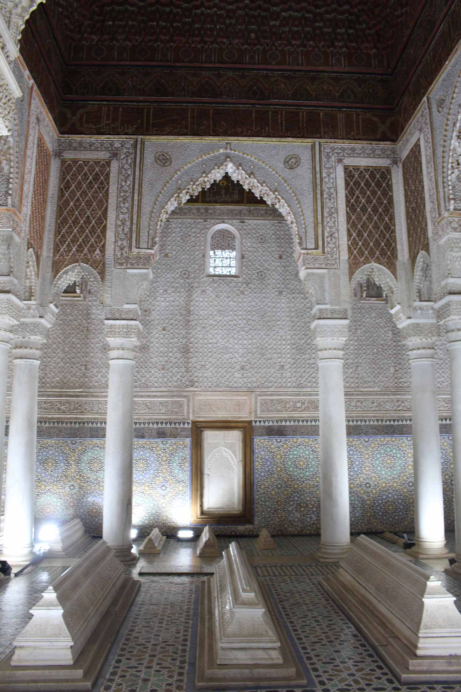 Marrakesh, Saadian tombs