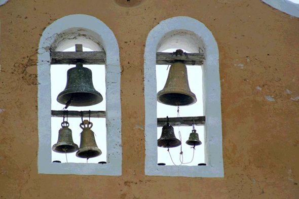 Izamal, couvent, cloches