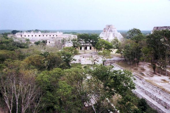 Uxmal, Mexique,