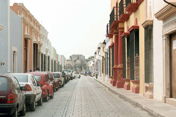 Campeche, historical center