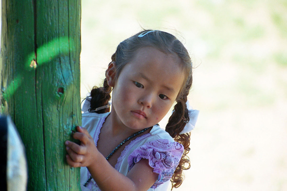 Mandal-Ovoo, young girl