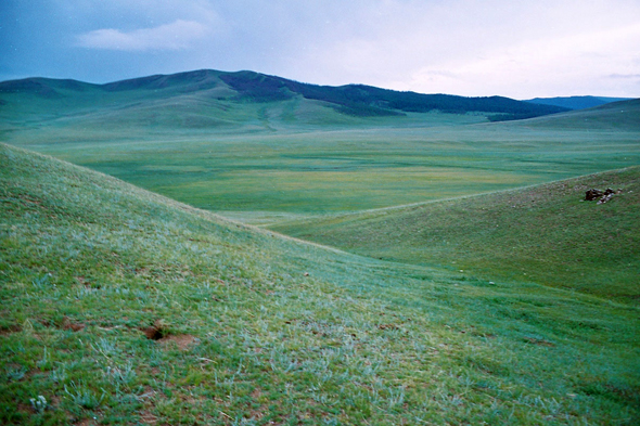 Landscape, Orkhon valley
