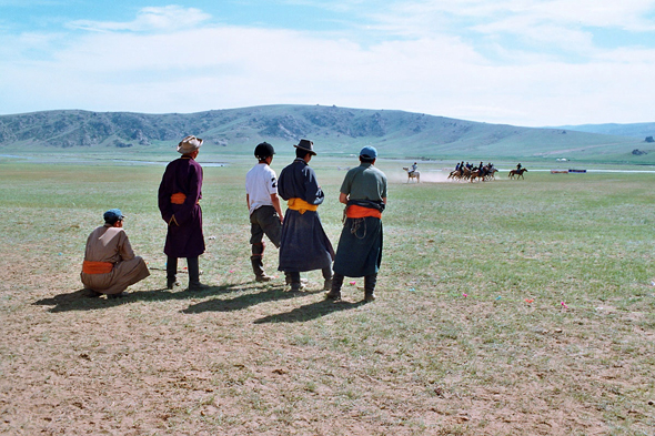 Mongolie, match de polo