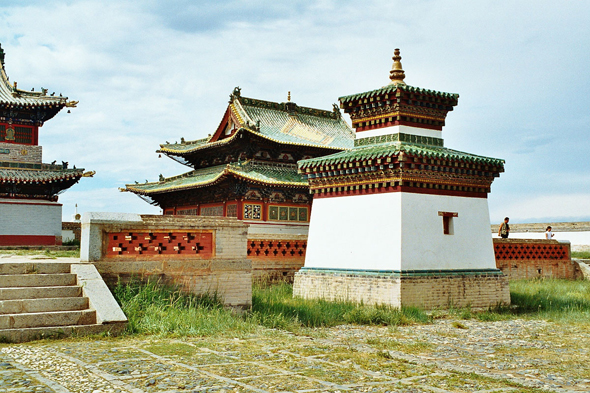 Karakorum, temple Erdene Zuu