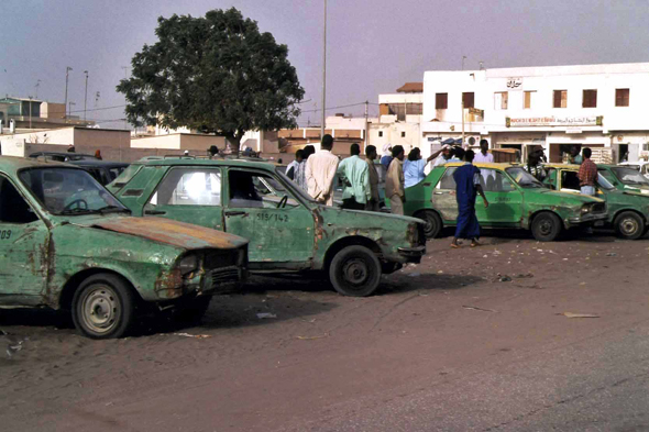 Nouakchott, old taxis
