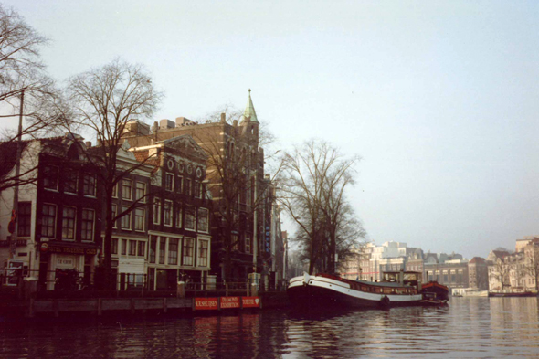 Amsterdam, canal, Netherlands