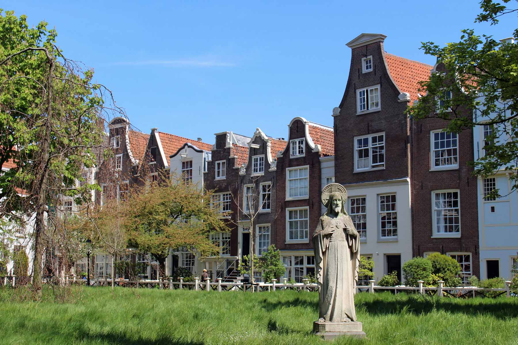The Beguin convent - Begijnhof, in Amsterdam
