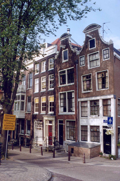 Amsterdam, typical house