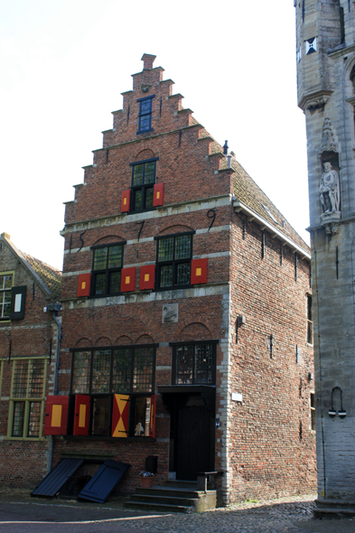 Veere, typical house