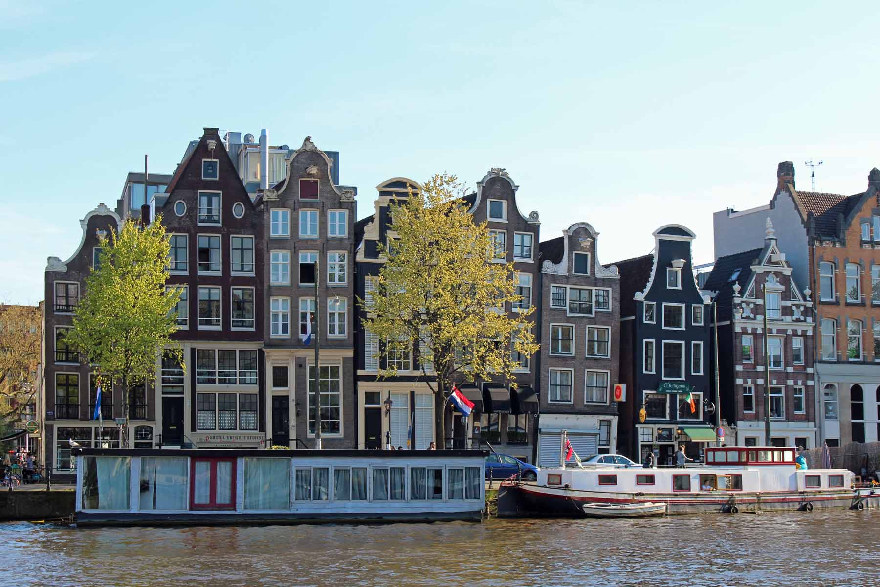 Amsterdam, maisons typiques, Amstel