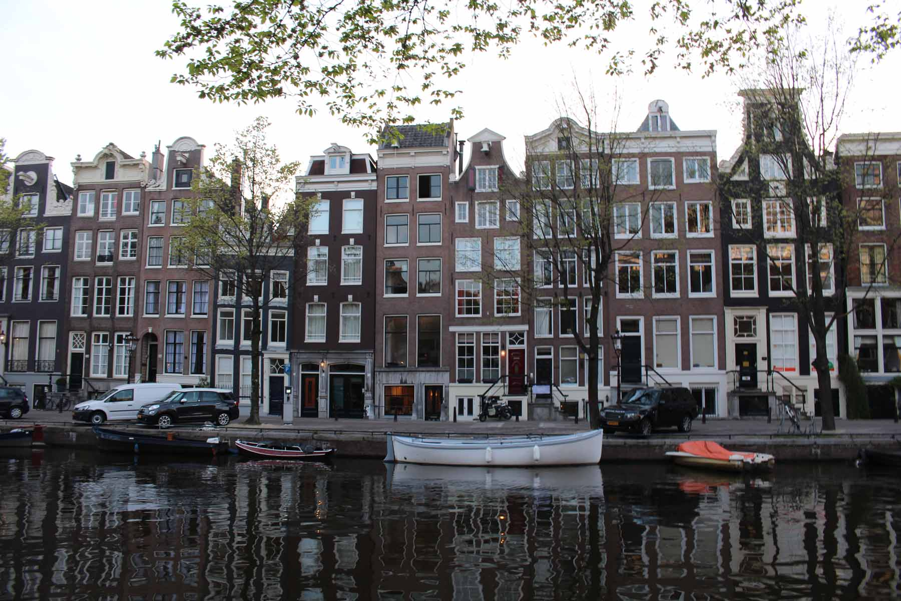 Amsterdam, canal Herengracht, Países Bajos