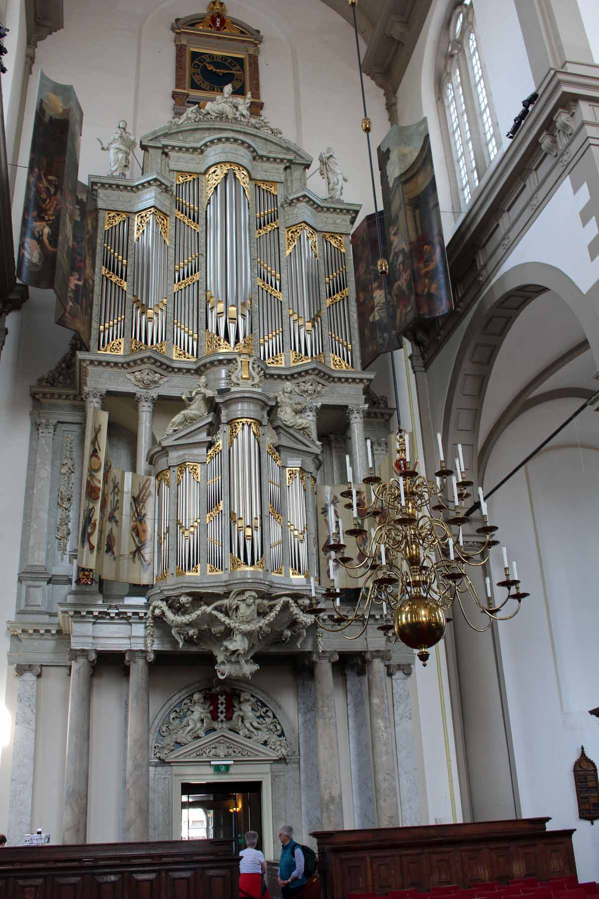 Amsterdam, organ, Westkerk church