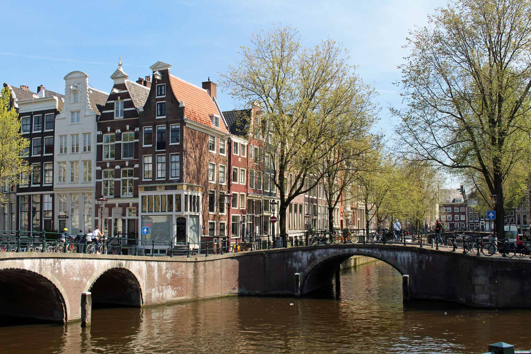 Amsterdam, ponts, Leidsegracht