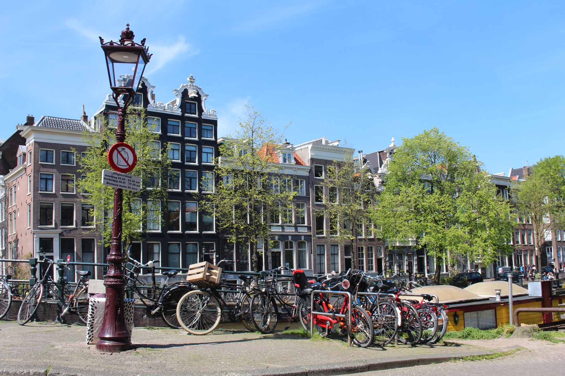 Amsterdam, Singel, bike, house