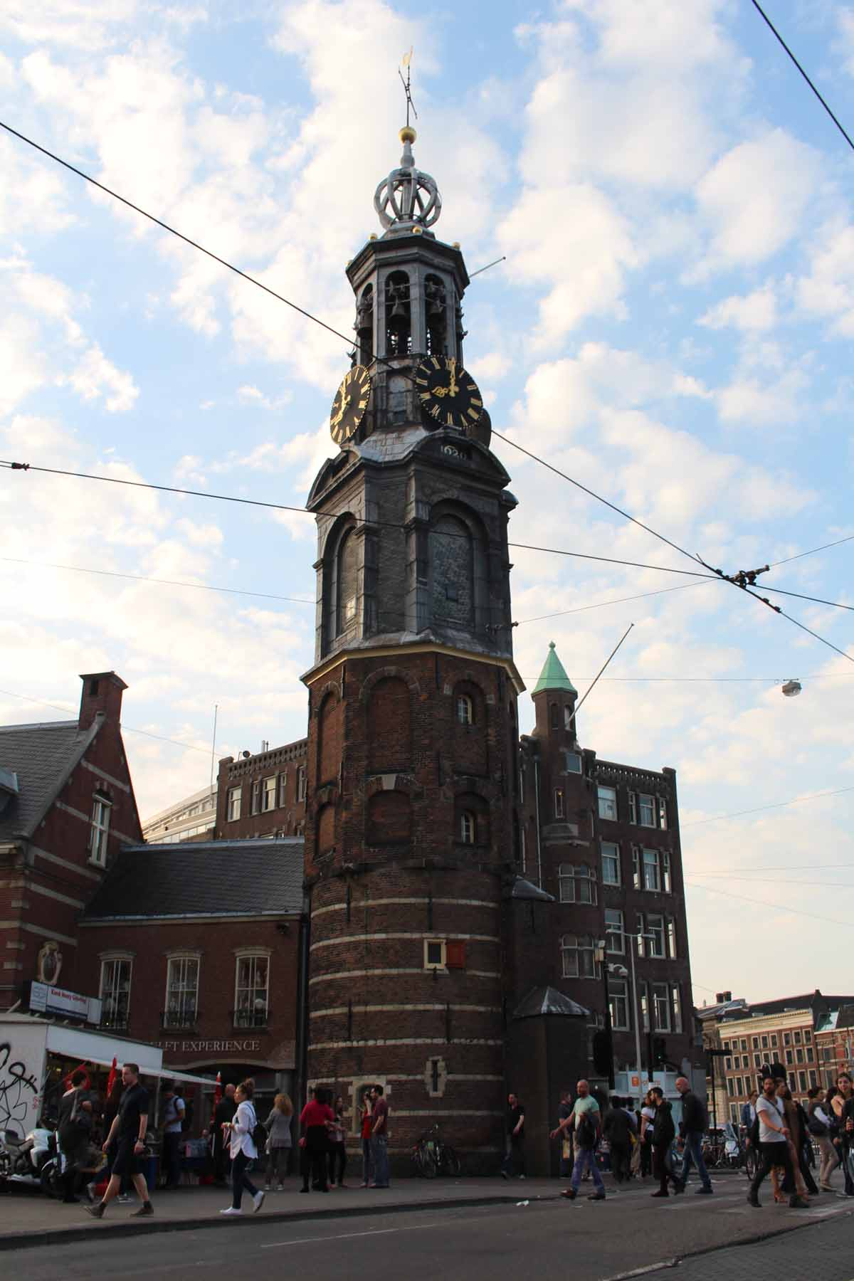 Amsterdam, Munttoren, Coin Tower
