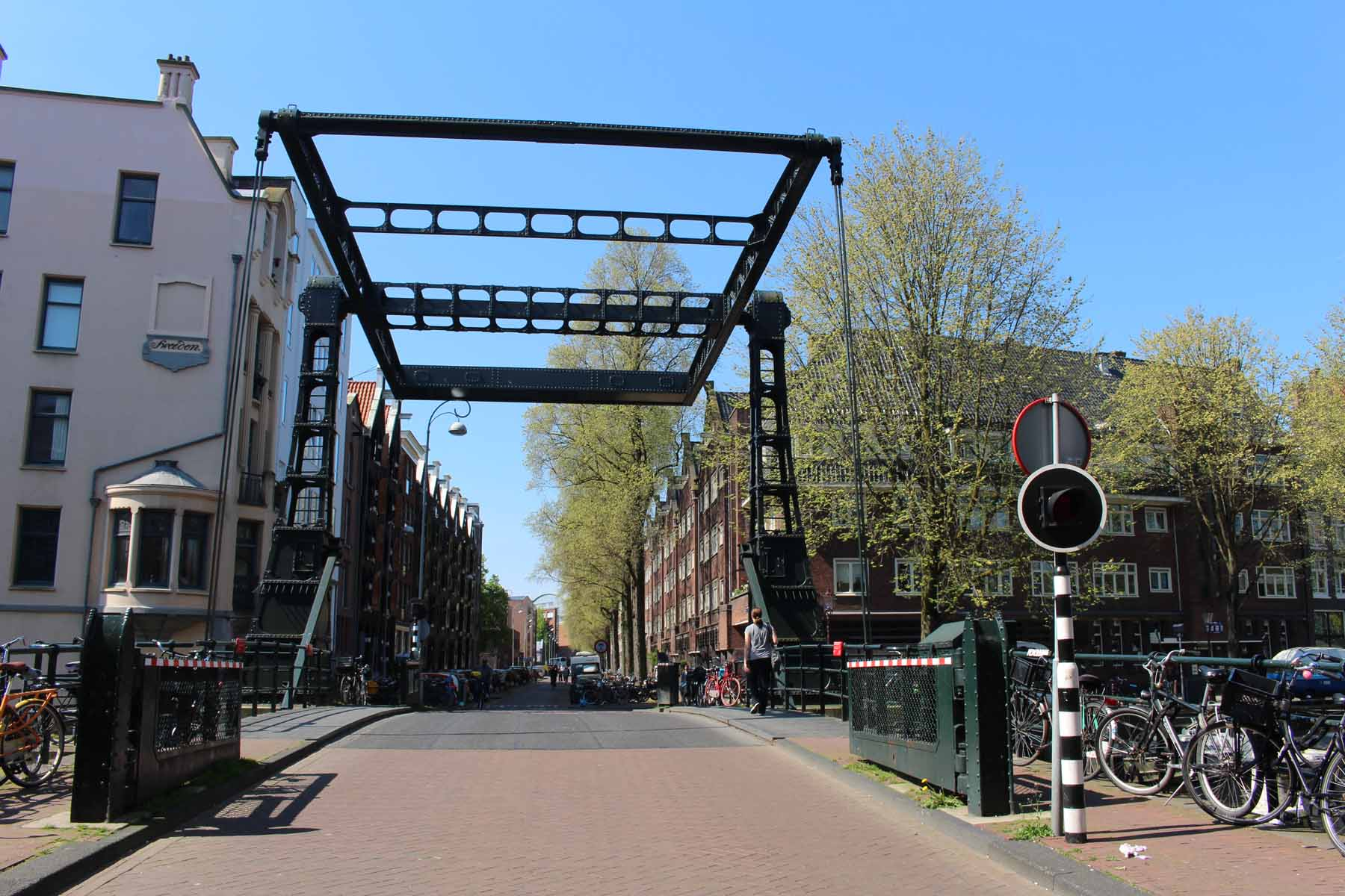Amsterdam, Peperbrug bridge
