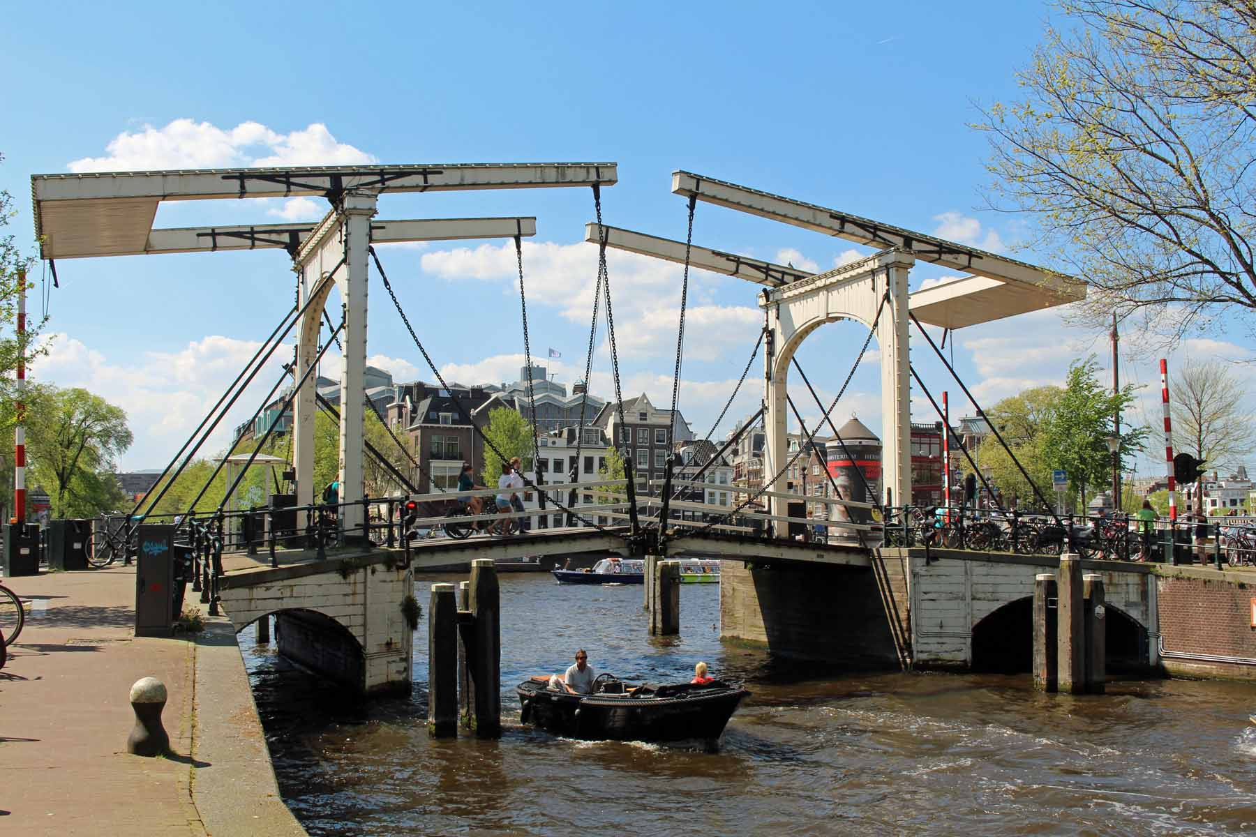 Amsterdam, Suskindbrug bridge