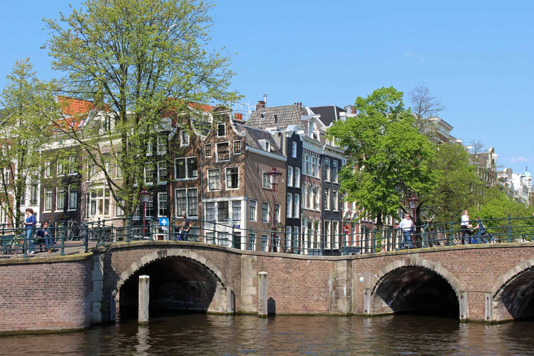 Amsterdam, bridges, Reguliersgracht