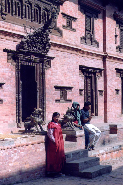 Bhaktapur, typical house