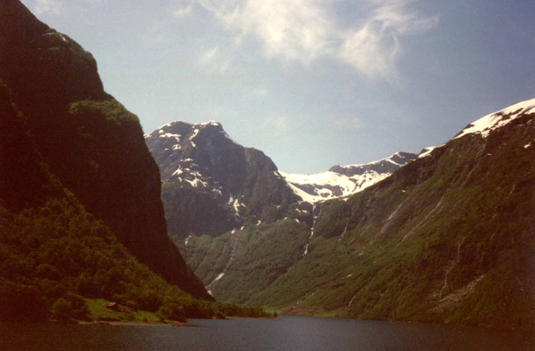 Sognefjord, view