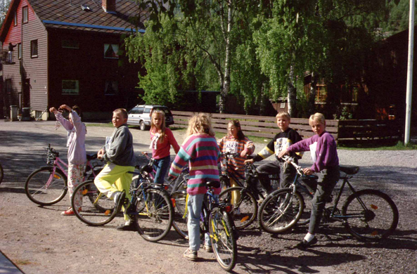 Lillehammer, children