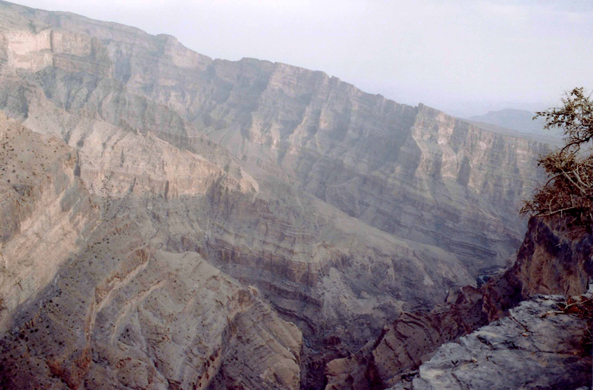 Jabal Chams, Oman