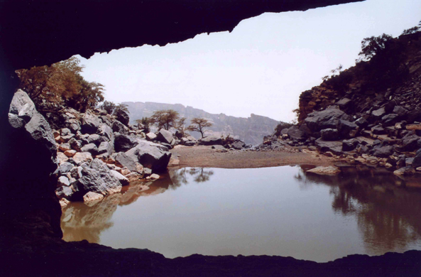 Jabal Shams, view, Oman