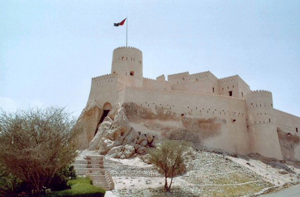 Nakhl, fortified castle