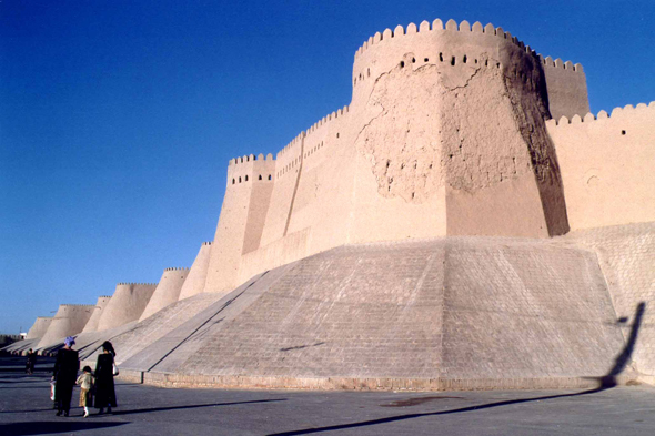 Khiva, fortifications