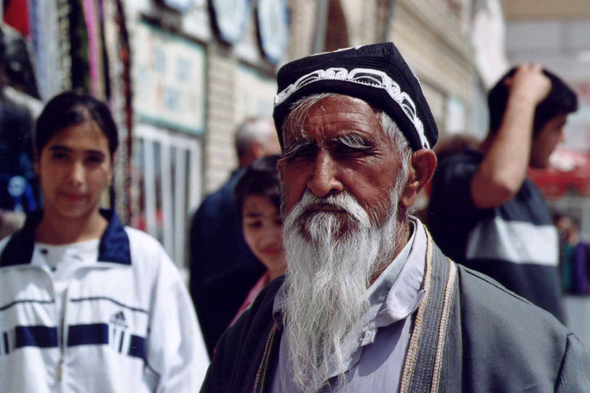Bukhara, old people