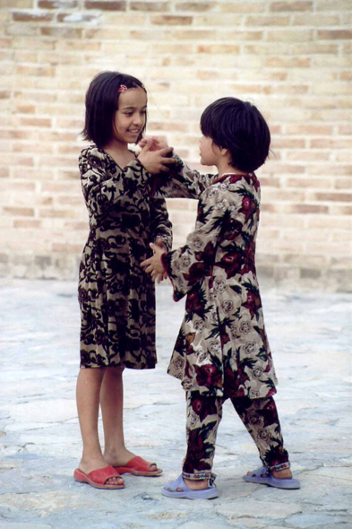 Bukhara, children